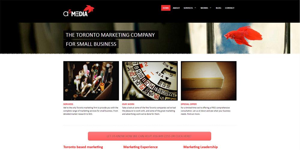 a5MEDIA Inc Logo