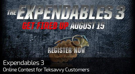 Web Design for EXPENDABLES 3