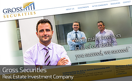Web Design for GROSS SECURITIES