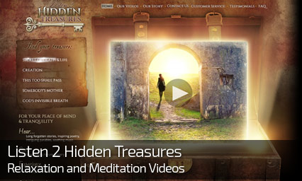 Web Design for LISTEN 2 HIDDEN TREASURES