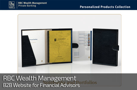 Web Design for RBC WEALTH MANAGEMENT