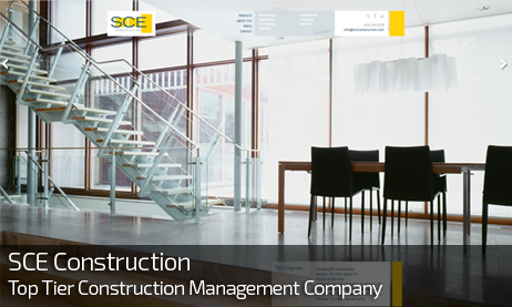 Web Design for SCE CONSTRUCTION